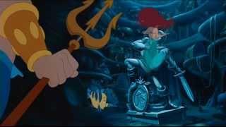 La sirenetta - La distruzione della grotta (Scena dal film)