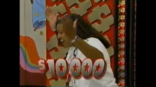 The Price Is Right:  October 6, 1998  (2 $11K Winners In 1st Showcase Showdown First Time Ever!!)