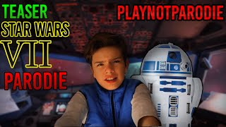 Star Wars The Force Awakens Teaser 2 Parodie - Parodie's Pictures