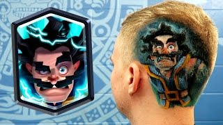 CLASH ROYALE ELECTRO WIZARD HAIRCUT!