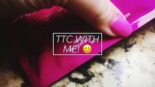 TTC WITH ME! (Live pregnancy test) CD34