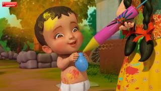 HOLI AAYEE   Hindi Rhymes for Children   Infobells
