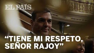 """PEDRO SÁNCHEZ: """"Señor Rajoy, le deseo lo mejor"""""""