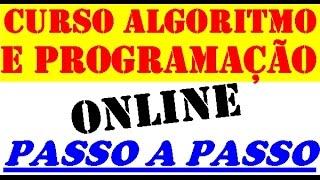 curso online de programação-algoritmo e lógica de programação