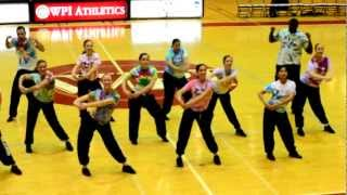 WPI Dance Team - Funk Soul Brother - Bball Game 2012