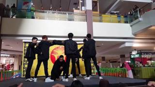 MTB - Fighter Cover Monsta-X @ Grage City Mall Competition 04-02-2017