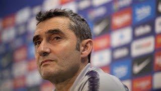 Siga la rueda de prensa de Valverde antes de recibir al Valladolid