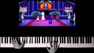 Monkey Island 1 - Organ Prelude (Piano Cover + SHEET MUSIC)