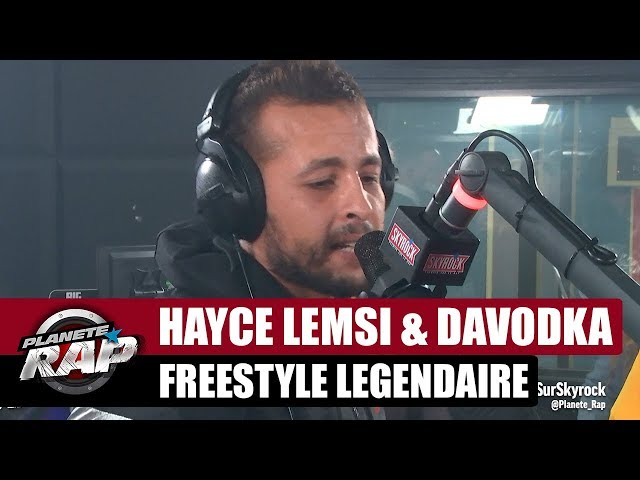 Hayce Lemsi and Davodka unleash a legendary freestyle on Skyrock! (Video)