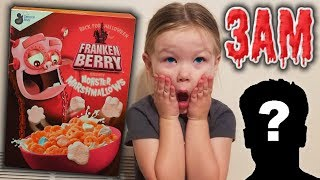 Do Not Eat Frankenberry Cereal at 3AM!! Who Chases Us??!!