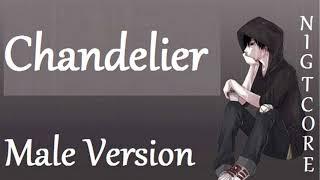Nightcore Chandelier Male Version