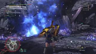 MH:W [PC] - Lunastra x Kushala Daora, Blue Flame/Fire/Tornado Combo