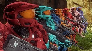 Red vs. Blue: Magic (Action Montage)