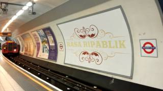 Rasa Ripablik in London Underground
