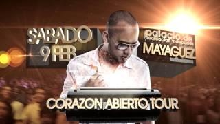Manny Montes CORAZON ABIERTO Palacio de Recreación y Deportes Mayaguez P.R.