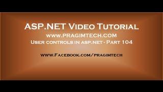 User controls in asp net   Part 104 width=