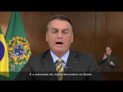 Pronunciamento do Presidente da República Jair Bolsonaro
