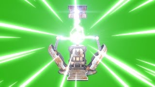Green Screen Teleporter Energy Electric Discharge - Footage PixelBoom