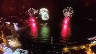 Fuegos Arificiales - Puerto Montt 12 de Febrero del 2015 | GoPro 4 Black | Dji Phantom 2