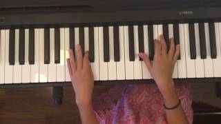 How to play Rise Up by Andra Day on piano by Nicole ! NewSchoolpiano