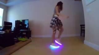 Chica bailando electro