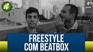 Rap de Improviso com Beatbox - Fabio Brazza