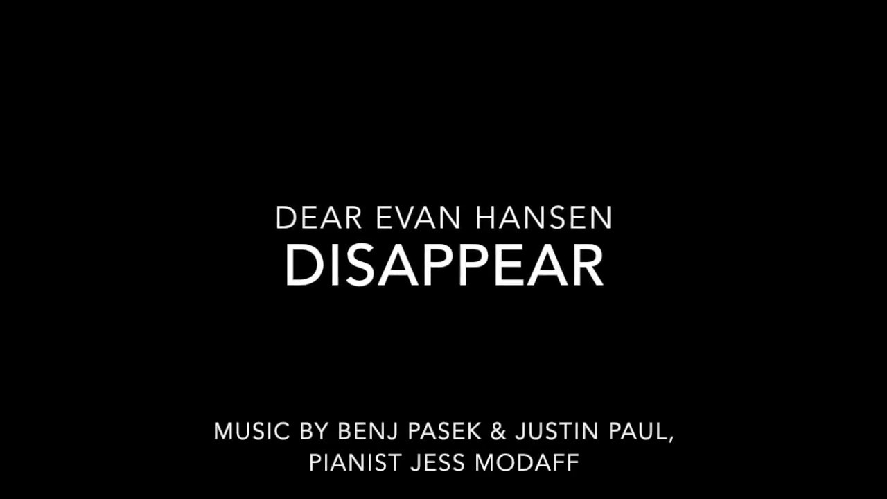 Dear Evan Hansen In Las Vegas March