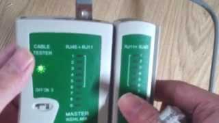 랜 테스터기 사용법 master nshl 468 (수정) 크로스는 3 6 1 4 5 2 7 8