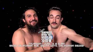 Peter & Ray's Surprise! Birthday Party Wrestling Show TV Commercial