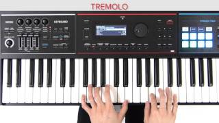 """Playing Jazz Electric Piano"" (Switching the Effects) Roland JUNO-DS Quick Start #02"