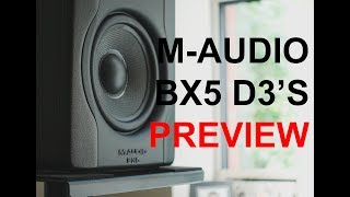 M-Audio BX5 D3 Studio Monitor Preview