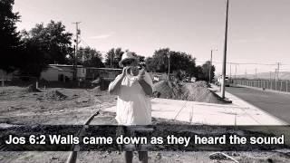Sounding the shofar! - Depression has to go! - Luis Sanchez
