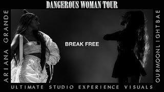 Ariana Grande: Break Free (Dangerous Woman Tour USE Visuals)
