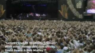 Genesis Live At Wembley Stadium - Rock Monster March on Fuse