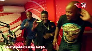 Jeff and Jalas dancing to Mash Mwana's latest track Sikia