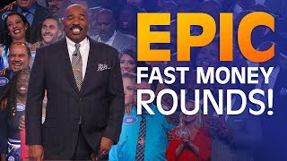 2018's MOST INCREDIBLE FAST MONEY ROUNDS   Family Feud