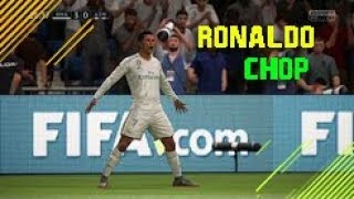 FIFA 18 | The Ronaldo CHOP TUTORIAL | PS4