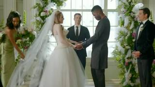 Dynasty 1x15 Clip - Cristal walks Fallon down the aisle - Wedding
