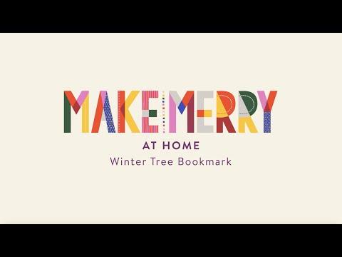 Winter Tree Bookmark