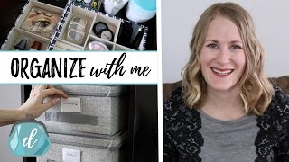Organize with Me! | Tips & Tricks (feat. Hollar)