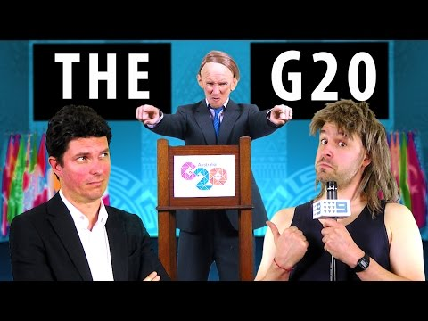 G20 Rap with Tony Abbott - feat. Senator Scott Ludlam [RAP NEWS 29]