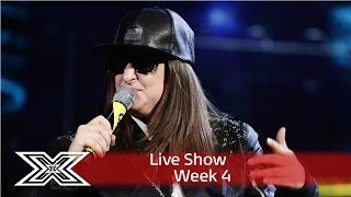 Honey G is out of this world with Men In Black cover! | Live Shows Week 4 | The X Factor UK 2016