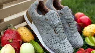 "SAUCONY SHADOW 5000 PLAY CLOTHS  ""STRANGE FRUITS"""