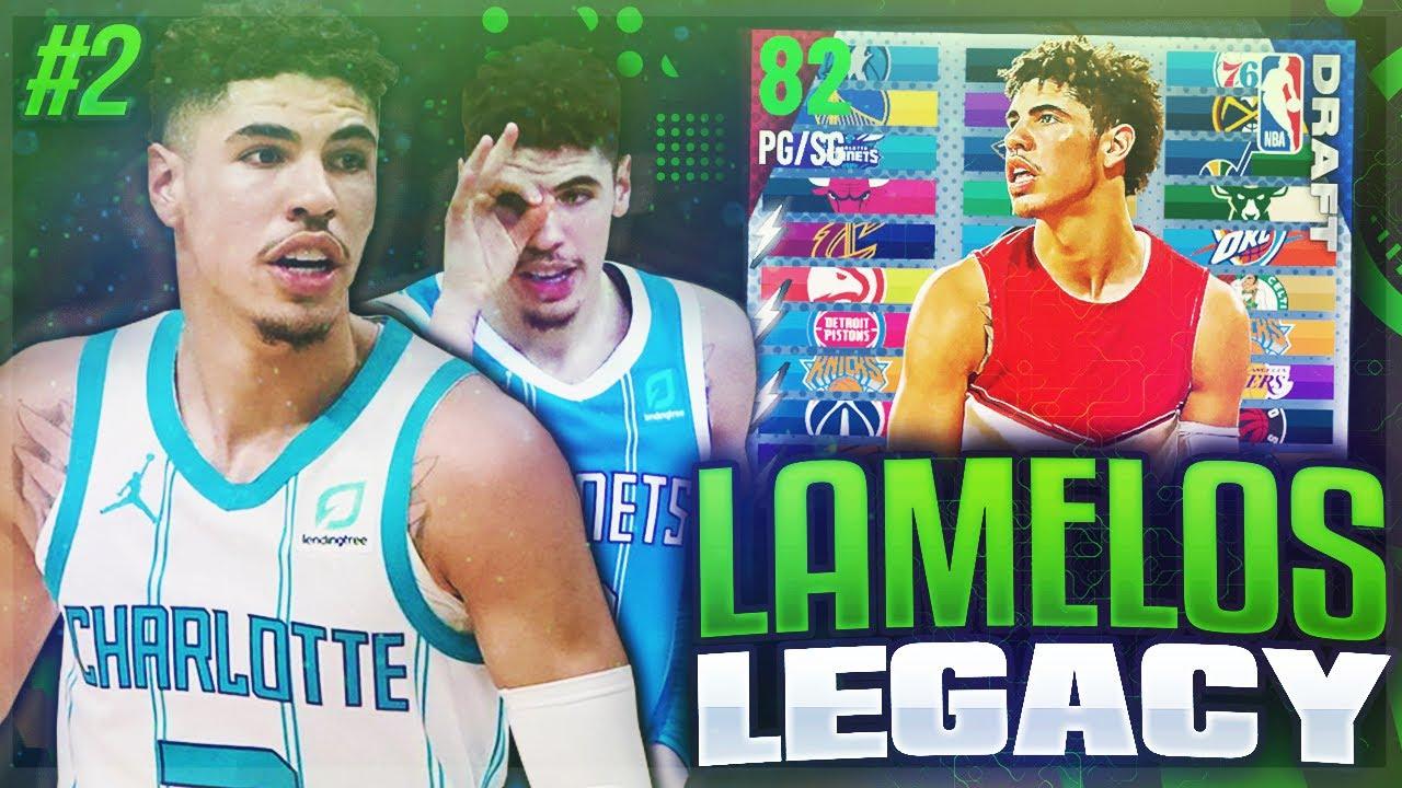 KILLZAMOI - LAMELOS LEGACY #2 - MOST INSANE PACK LUCK!! NBA 2K21 MYTEAM!!