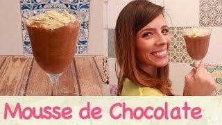 A MOUSSE de CHOCOLATE mais deliciosa!! | TPM, pra que te quero?