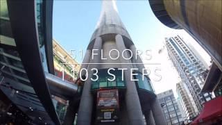 sky tower stair challenge 2017 NZ
