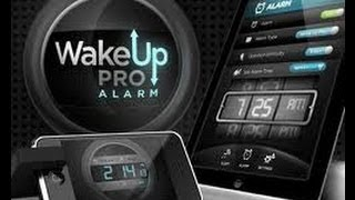 Wake Up PRO Alarm [iPad] Video review by Stelapps