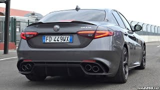 Alfa Romeo Giulia Quadrifoglio SOUND Start Up & Revs - Normal Mode vs. Race Mode