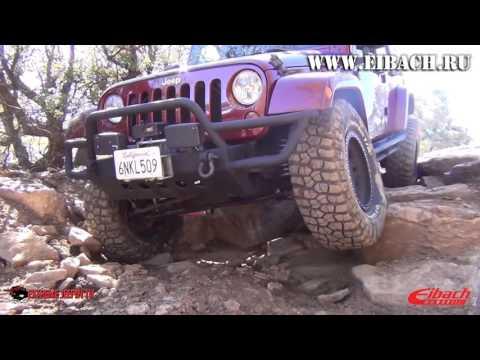 Комплект Eibach All-Terrain-Lift на Jeep Wrangler JK