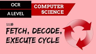 OCR A'Level Fetch decode execute cycle width=